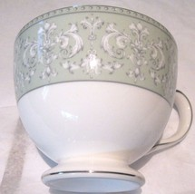 W Wedgwood China Juliet Teacup Leigh 0.25PT Green White New United Kingd... - $23.74