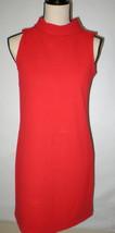 New Womens Banana Republic Red Dress Sleeve XS Knee Length Mock Sleevele... - $166.00