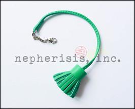 NWB Hermes Carmencita GM Carmen Pompom Bookmark or Bag Charm Lambskin MENTHE - $260.00