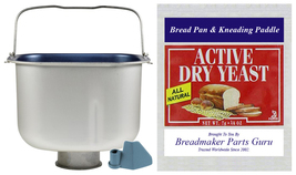 Bread Pan Fits Oster 3-Rivet Model 5838 SEE PICS ExpressBake Breadmaker ... - $59.49