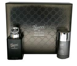 Gucci by Gucci Pour Homme Cologne 3.0 Oz Eau De Toilette Spray 2 Pcs Gift Set image 4