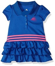 Baby Girls Active Polo Dress 100% Polyester 3/6/9/12/18/24 monthes BLUE - $46.31