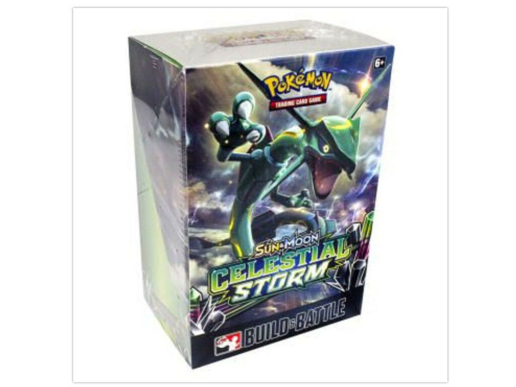Pokemon TCG Celestial Storm Elite Trainer Box + Prerelease Kit Build Battle Box