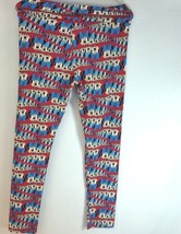 LuLaRoe Disney Leggings All Over Print Minnie Mouse One Size - $15.67