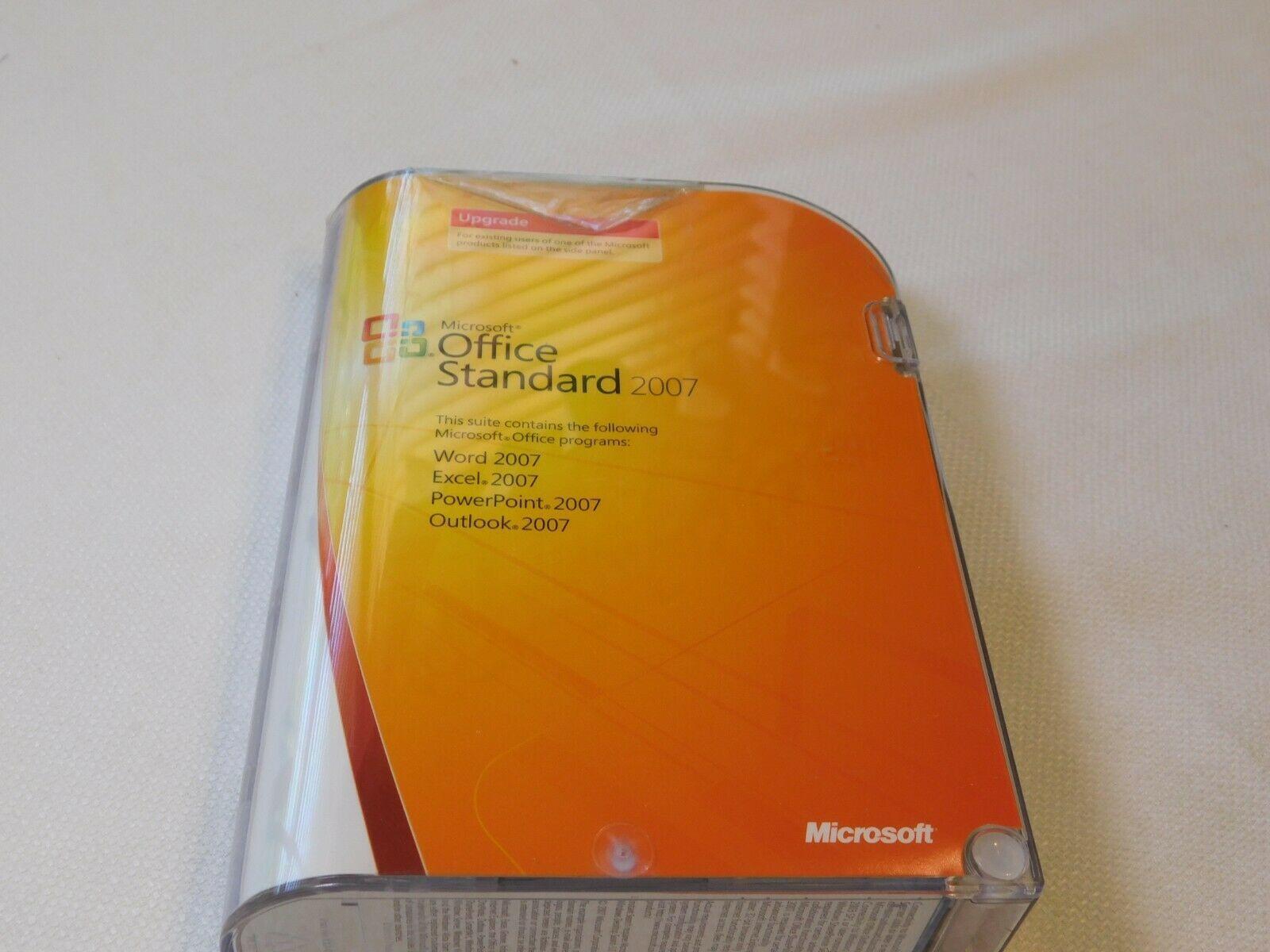Microsoft Büro Standard 2007 PC Upgrade 021-07668 Geöffnet NOS Neu Word Excel image 2
