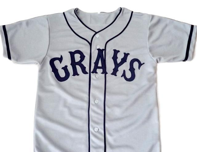 Josh gibson  20 homestead grays negro league baseball jersey grey 1