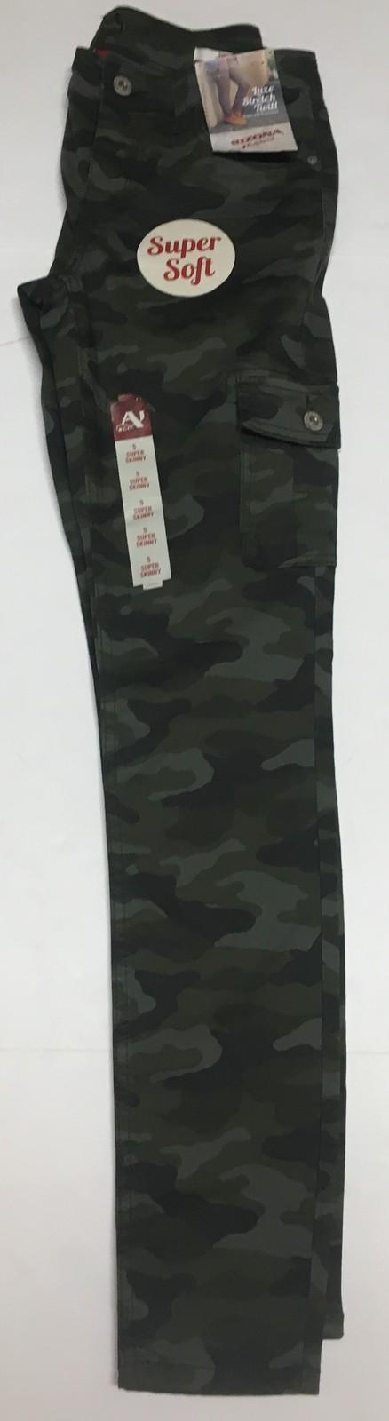 Arizona Camouflage Super Skinny Soft Stretch Pants Sz 5 image 7