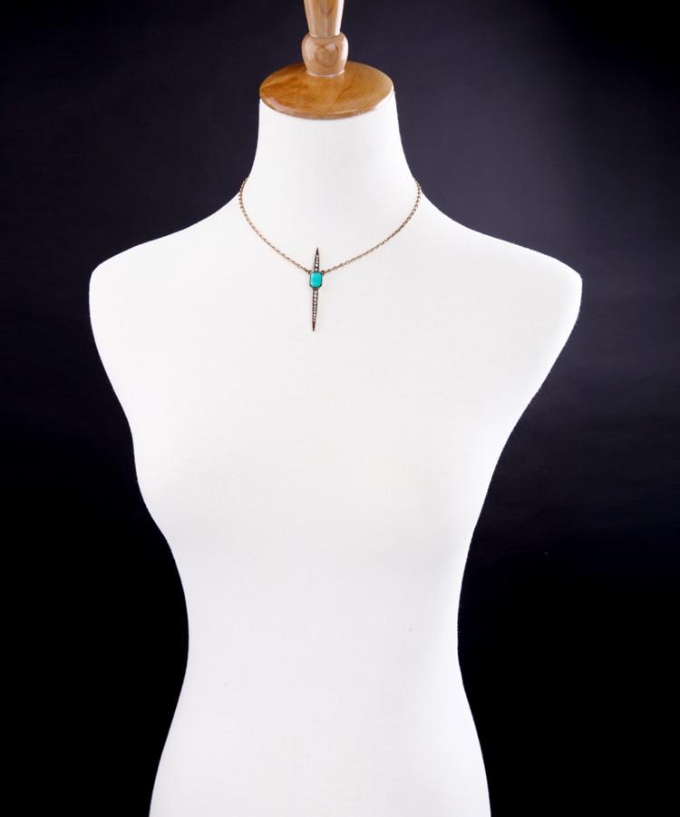 Fashion necklaces for women 2017 new trending geometric pendants simple women bijoux jewelry 2