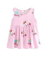 Koala Superstore Sleeveless Cotton Dress Vest Skirt for Girls Home Night... - $12.66
