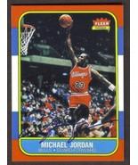 MICHAEL JORDAN Rookie Card RP #57 Facsimile Auto Bulls RC 1986 F Free Sh... - $2.95