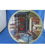 Kitty Cat Plate Quilts and Kitties Lazy Morning Cozy Country Corner - $5.00