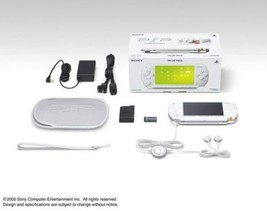 SONY Value Pack PSP-1000 series PSP-1000KCW White ver. Game console Bran... - $980.00