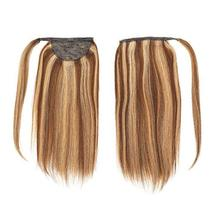 Lacer Balayage Blonde Ponytail Extension Clip in Ponytail Hair Extensions Remy H image 2