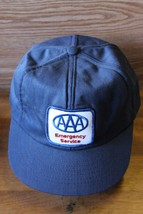 Vintage 70s 80s AAA American Auto trucker Patch hat cap Made in USA-Swin... - $39.99