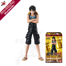 """BANDAI ONE PIECE STYLING FILM GOLD 1 """"Monkey D Luffy"""" Collectable Figure - $13.84"""