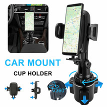 Universal 360° Adjustable Phone Mount Car Cup Holder Stand Cradle For Ce... - $33.90