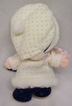 """Applause Precious Moments CUTE DOLL IN WINTER OUTFIT 7"""" Plush STUFFED DOLL Toy image 2"""