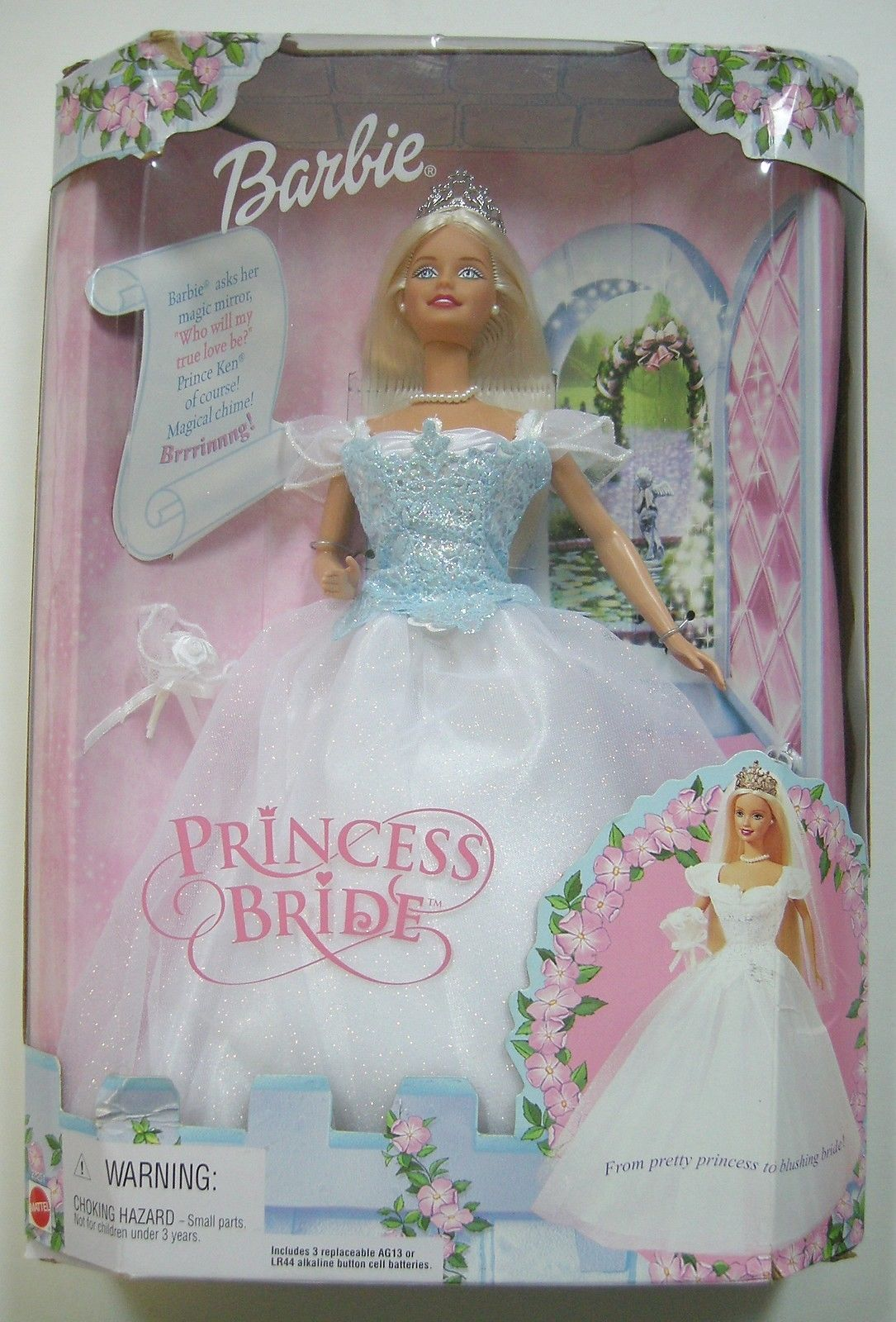 Barbie Doll Princess Bride Chimes Blue and 43 similar items