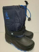 Kamik Boots Black/navy Size 4 - $59.39
