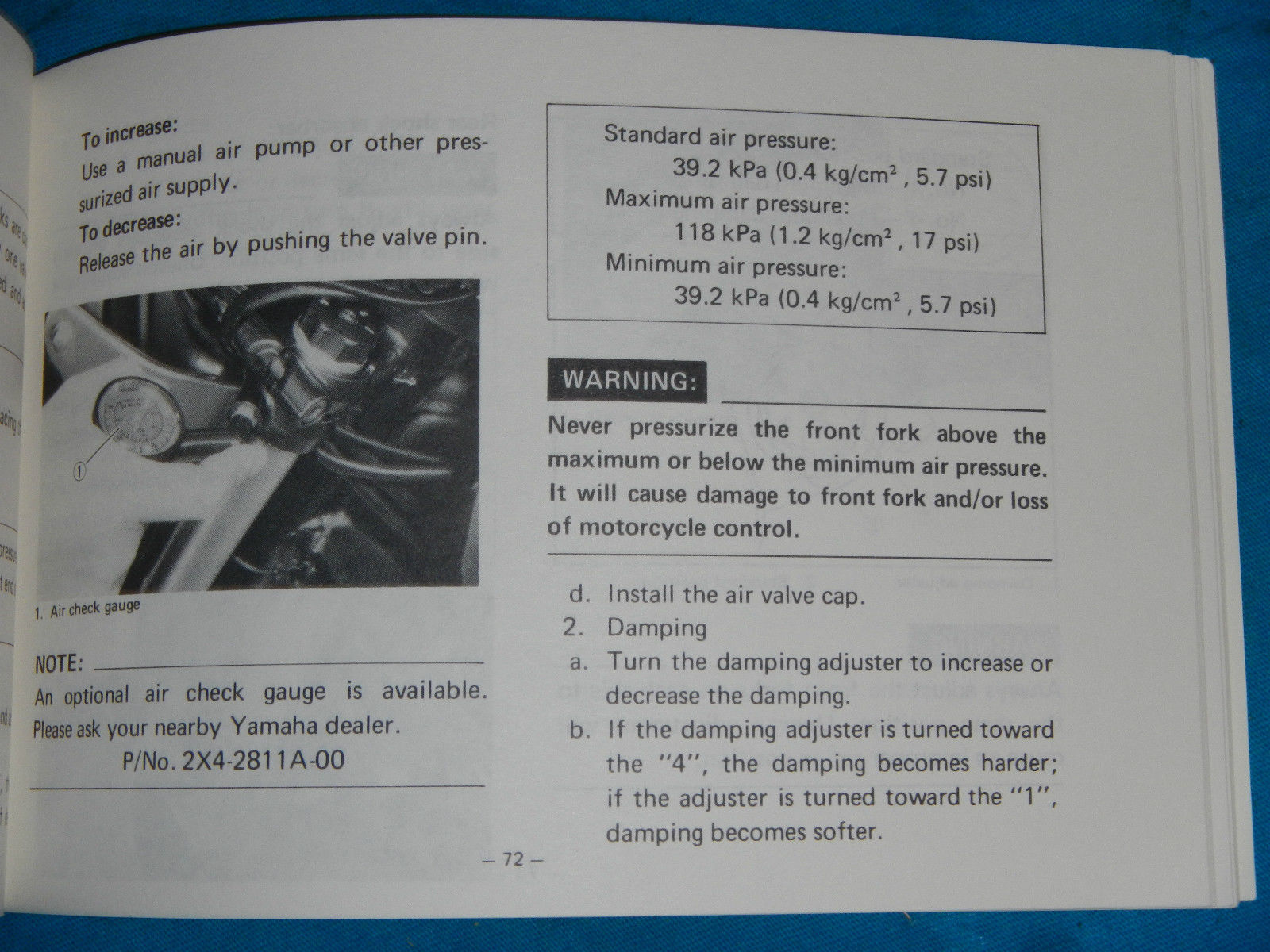... 1982 82 YAMAHA XJ750 XJ 750 MAXIM SHOP SERVICE REPAIR MANUAL ...
