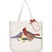 Eco Friendly Canvas Tote Bag By Mary Lake Thompson-Birds - $21.50