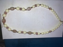 Beautiful Vintage Beaded Necklace - $2.00