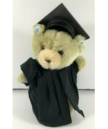 GIBSON GREETINGS Graduation Cap and Gown Plush 7 inch Teddy Bear - $12.86