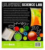 Think Box Glowing Science Lab Glow Dark Slime Power Balls Kids Craft Activity NW image 4