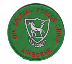 US Army 10th Special Forces Group Patch 3'' - $13.85
