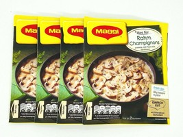 Maggi RAHM CHAMPIGNONS sauce 8 portions/4 ct. Made in Germany FREE SHIPPING - $13.85
