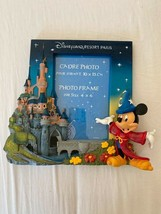 Extremely Rare! Walt Disney Mickey Mouse Fantasia Figurine 3D Frame Statue - $247.50