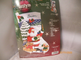 Christmas Stocking by Janlynn New - $9.89