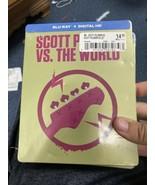 Scott Pilgrim vs the World (Blu-ray, Steelbook, Brand New) - $28.04