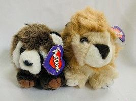 Puffkins set of 2 plush Lancaster & Bandit 1994 tags stuffed animals SWIBCO - $17.63
