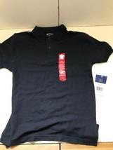 Arrow Boys Short Sleeve Polo-Navy- LG(12-14) - $4.99