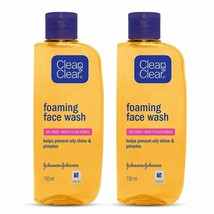 Clean&Clear Foaming Face Wash, skin feeling clean and beautiful 150ml(Pa... - $29.69