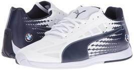 Puma Bmw Men's Premium EvoSpeed MS Sport Athletic Sneakers Shoes White 30588302