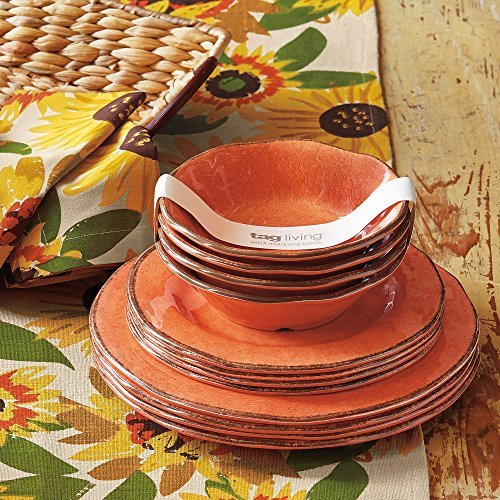 tag - Veranda Melamine Dinner Plate, Durable, BPA-Free and Great for Outdoor or  image 3