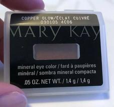 Nib Mary Kay Mineral Eye Color Eyeshadow Copper Glow Discontinued Free Ship! - $9.89