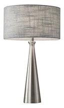 "Adesso  Linda 1-Light Silver Gray Table Desk Lamp  21.5"" High 1517-22 - $68.10"