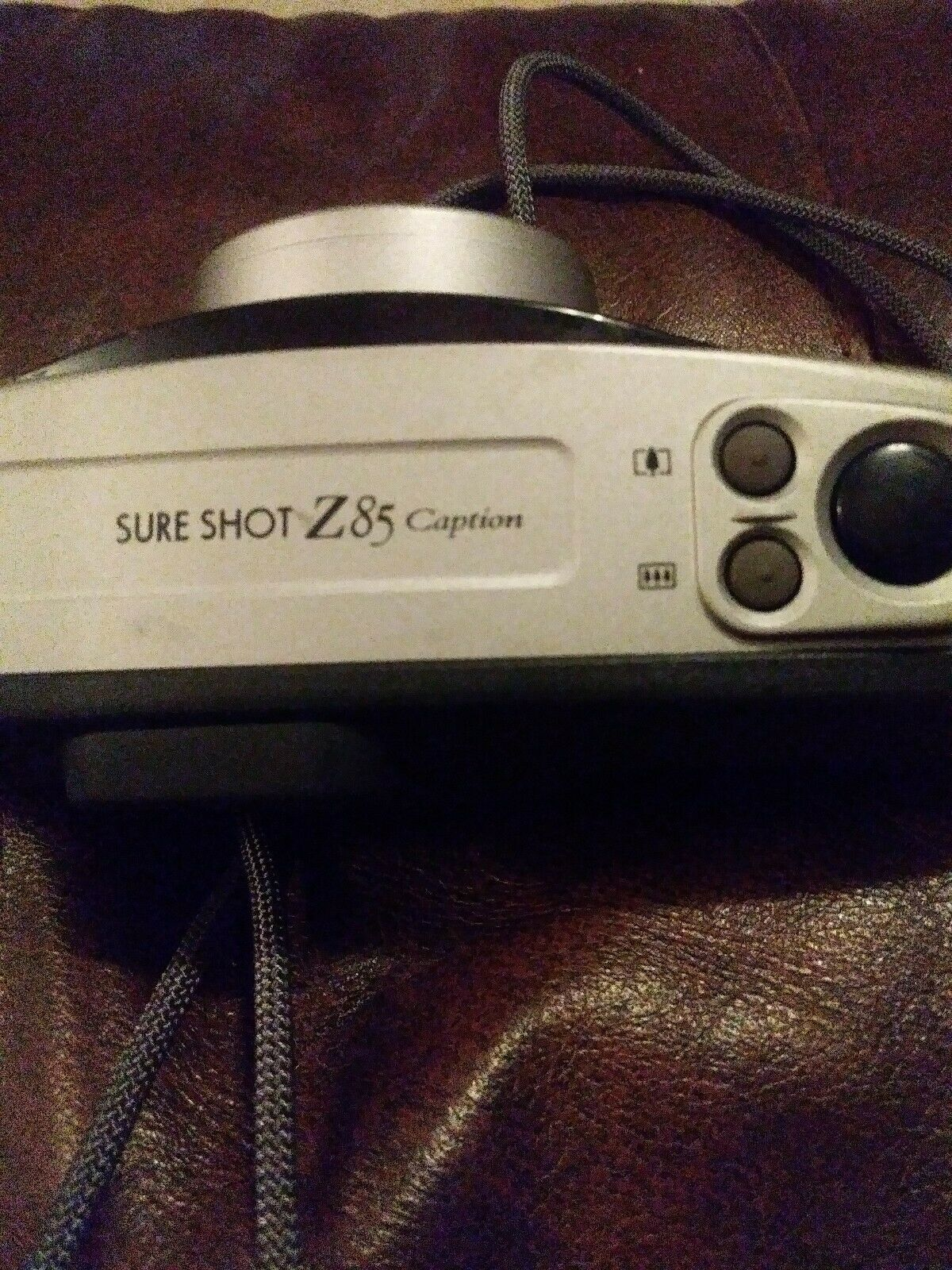 Canon Sure Shot Z85 35mm Film Camera (Working)