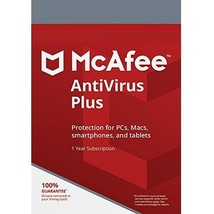McAfee AntiVirus Plus 2019  (1 Year / 5 PC) Key Global - Digital Downloa... - $8.00