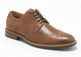 Goodfellow & Co. Brown Faux Leather Francisco Oxford Shoes 10.5 NWT image 1