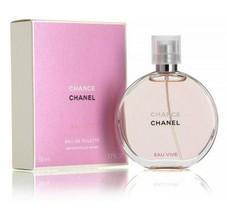 Chance Eau Vive EDT Spray by Chanel for Woman 1.7 FL OZ 50 Ml