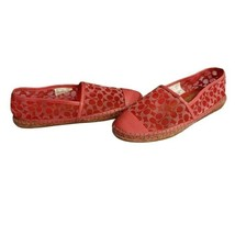 Coach Cleo Espadrille Flats Orchid 8.5 - $37.60