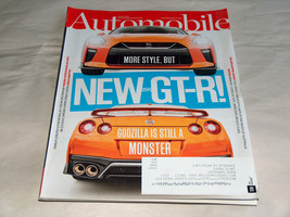 Automobile June 2016 Car Magazine New (ish) Nissan GT-R Godzilla Monster!! - $8.26