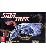 AMT/ERTL Star Trek 3 Piece Adversary Micro Ship Set Romulan Warbird, Fer... - $68.80