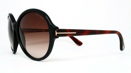 New Tom Ford Tf343 05B Black Authentic Sunglasses 59-15-140 - $106.65