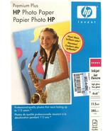 """HP Premium Plus Photo Paper High Gloss 4 x 6"""" 45 Sheets Q5519A $34.99 - $23.34"""