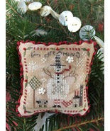2017 I'm Dreaming Ornament christmas cross stitch chart  Shepherd's Bush  - $5.00